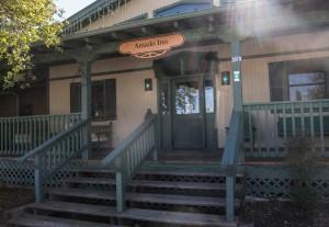 Amado Inn Front Porch