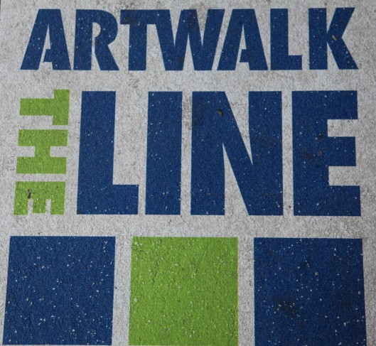 art walk the line
