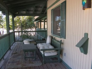 front porch Amado Inn