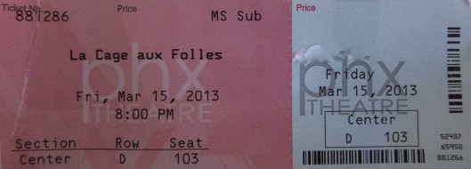 phoenix theatre ticket