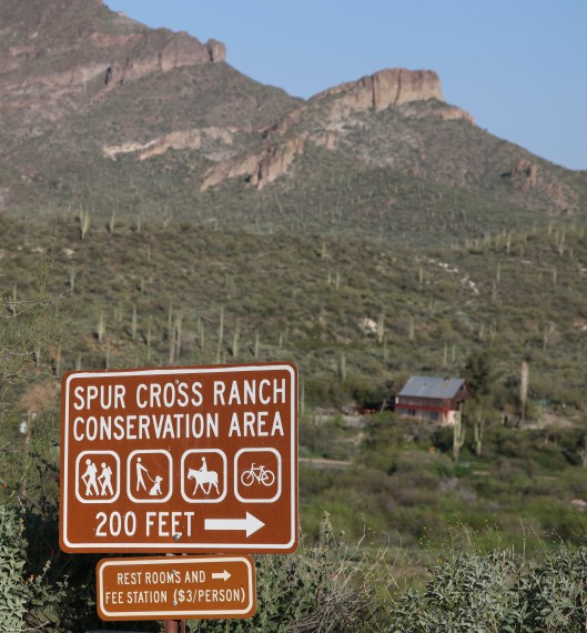 spur cross ranch sign