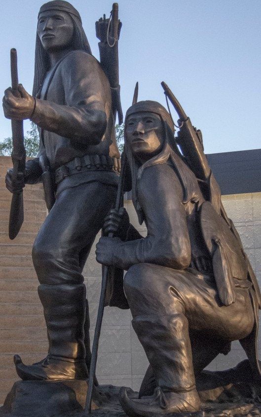 heard bronze statues