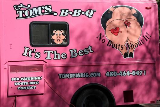toms bbq truck