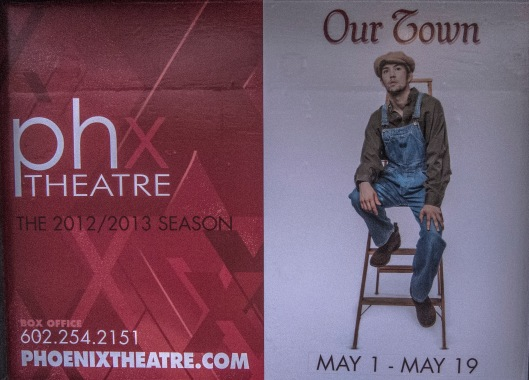 Our Town poster Phoenix Theatre 014