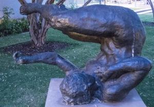 sculpture phoenix art museum