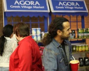 greek festival agora market