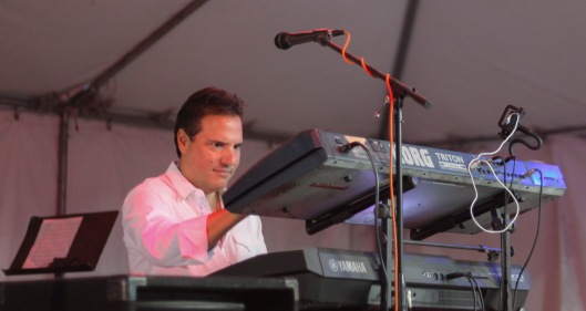 greek festival entertainment keyboard
