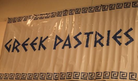 greek festival pastries