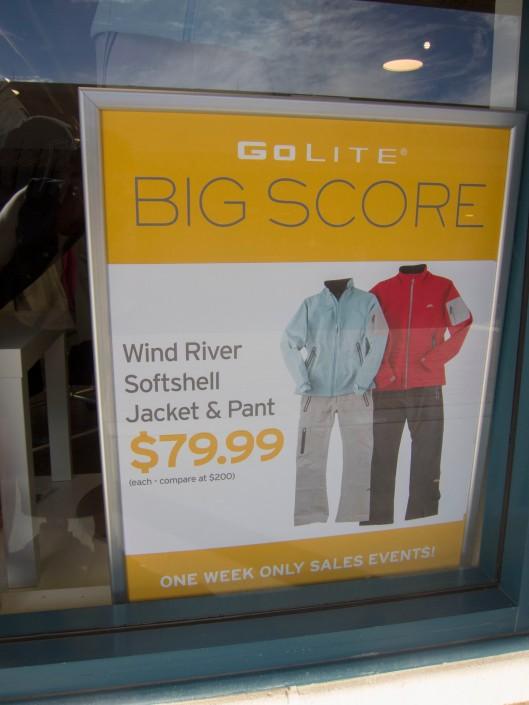 GoLite advertising