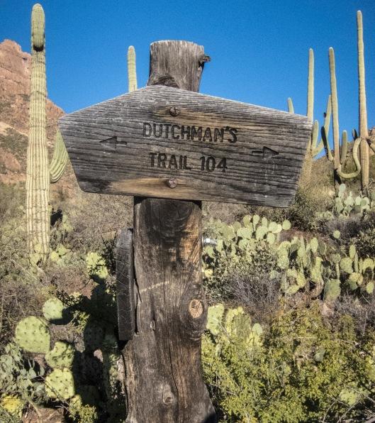 sign dutchmans trail