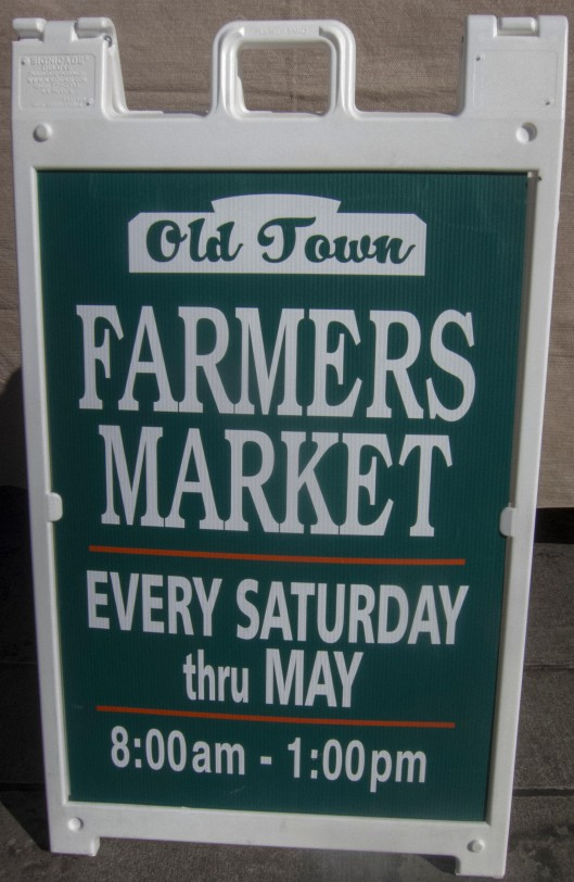 Old town farmer market