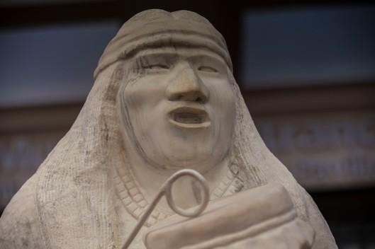 statue at heard museum