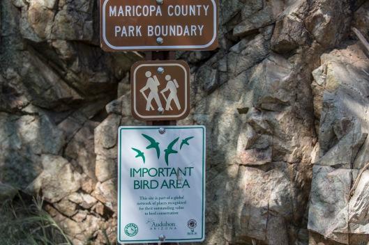 important bird area sign
