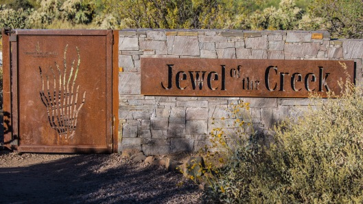 jewal of the creek entrance