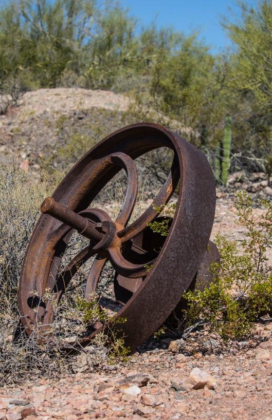 wheel at mine
