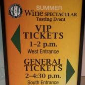 AJ VIP Wine tasting